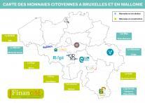Carte des MLC en Belgique