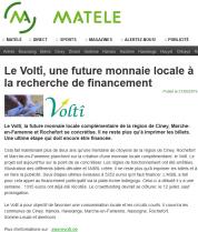 Le Voltî, une future monnaie  locale à la recherche de financement